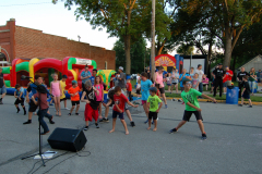Summer kick-off block party